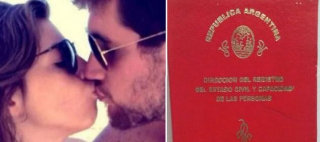 ¡Se casaron Dalma Maradona y Andrés Caldarelli!