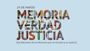 Cronograma de actividades por el Día de la Memoria