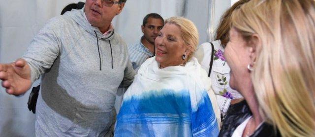En Expoagro Carrió elogió al campo y apoyó la reelección de Macri