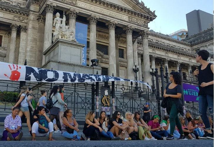 #8M    La marcha por el Día de la Mujer