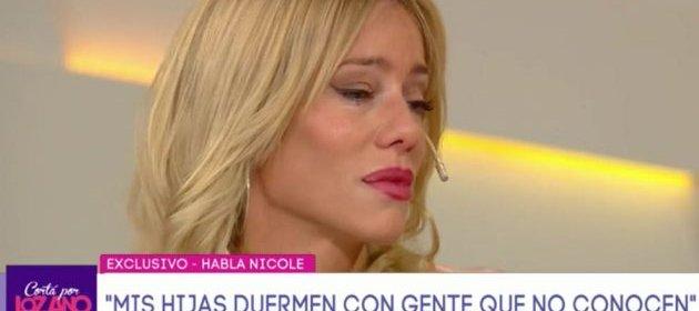 Nicole Neumann lloró en vivo e hizo un fuerte descargo contra Fabián Cubero