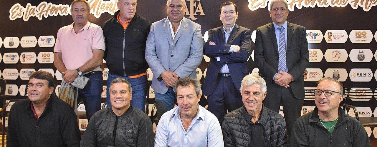 Gobernador Zamora y titular de la AFA firman  convenio para la construcción el estadio único