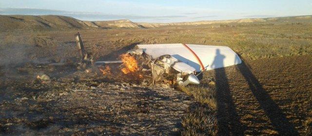 Cayó una avioneta en un campo de Península Valdés: hay dos desaparecidos y dos heridos