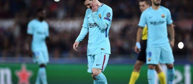Roma hizo historia: goleó a Barcelona y dejó a Messi sin Champions League