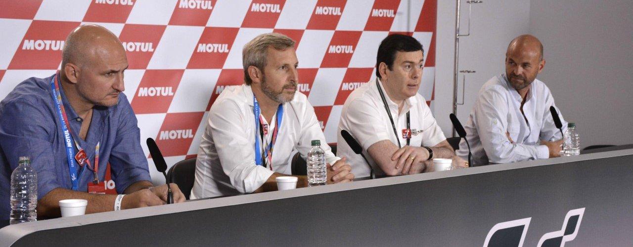 Funcionarios nacionales destacaron el Moto GP