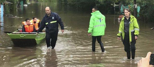 El Gobierno Nacional envió ayuda a la Provincia de Buenos Aires tras el temporal