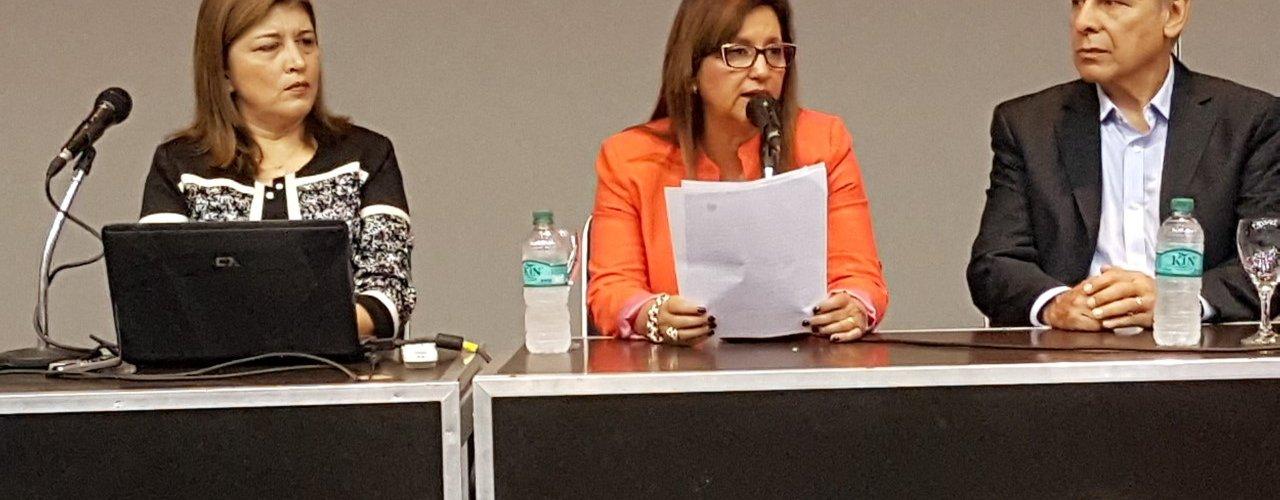 La intendente Fuentes abrió una Jornada de Educación Ambiental para docentes