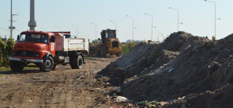 El municipio retiró 200 toneladas de basura en un solo día