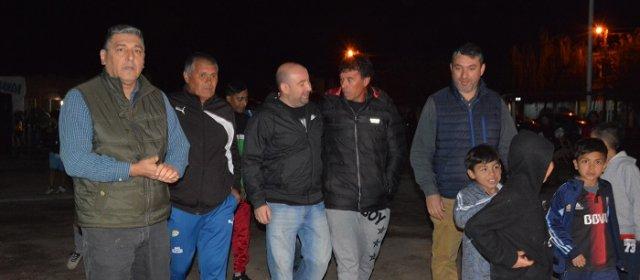 Mirolo dejó inaugurado un nuevo espacio deportivo en el Barrio Central Argentino