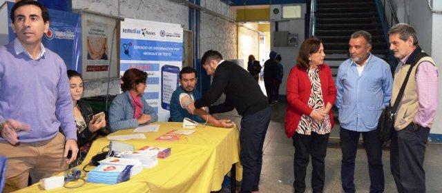 El Ministerio de Salud realizó controles de prevención  en vísperas del Día Mundial de la Hipertensión