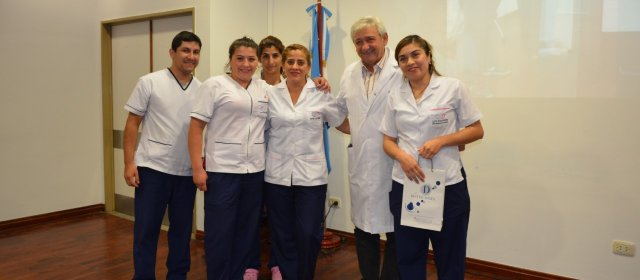 Homenajes a enfermeros y enfermeras en el CePSI