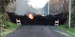 un experto descubrió por Google Maps un Ovni cerca del volcán Kilauea