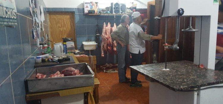 ProCarne: operativo de control en carnicerías y  cámaras frigoríficas de la ciudad de Fernández