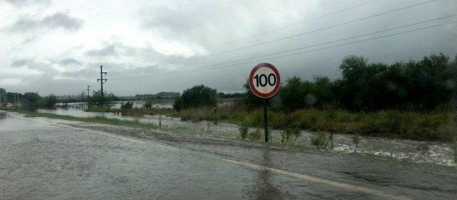 Entre Ríos: un temporal dejó un muerto y más de 1600 asistidos