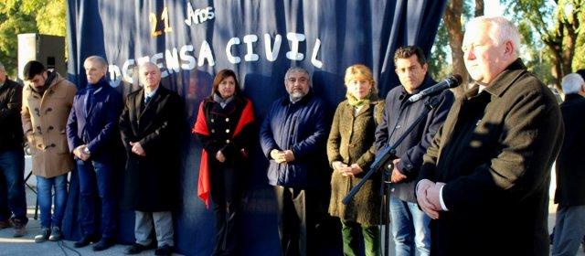 Defensa Civil Municipal celebró su 21º aniversario