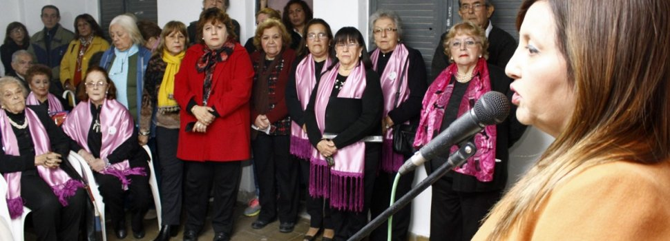 La Intendente Fuentes participó de la habilitación de la sede de la Asociación Civil de Adultos Mayores