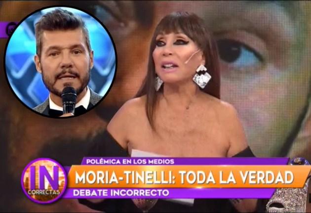 "Moria Casán se cansó y destrozó a Tinelli: ""Marcelo tiene mucho ego"""