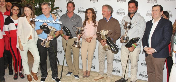 Primera entrega de premios en el  Termas de Río Hondo Golf Club