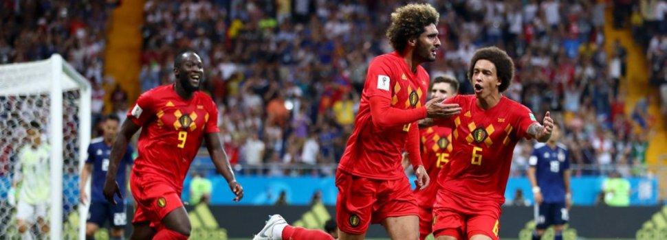 Bélgica lo dio vuelta, le ganó a Japón y será rival de Brasil en cuartos