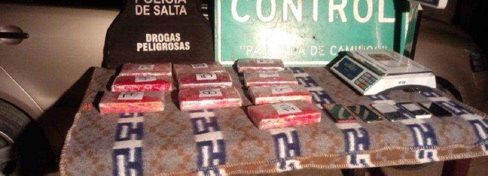 Viajaban dos nenes para que no sospechen que transportaban cocaína