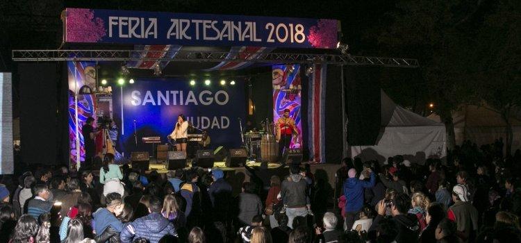 La Feria Artesanal se convirtió en una buena opción para las vacaciones en familia