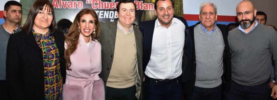 "Zamora proclamó a ""Chueco"" Blanco  candidato a intendente de La Banda"