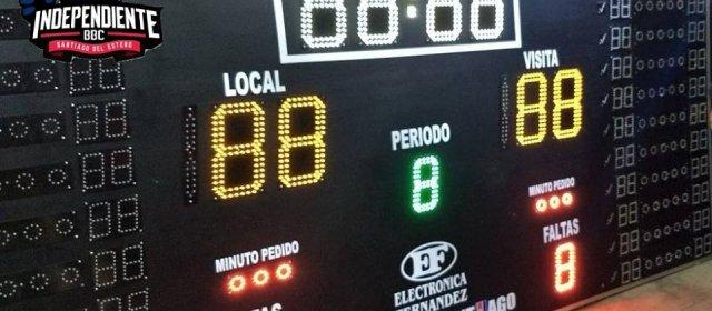 Independiente BBC ya cuenta con nuevos tableros electrónicos
