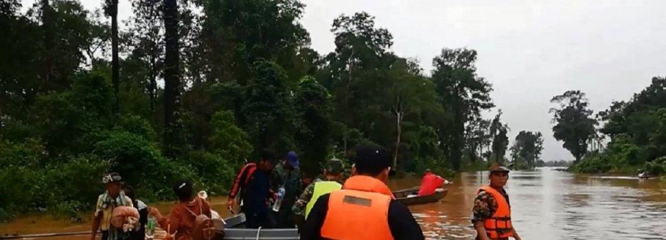 Laos: muertos y un centenar de desaparecidos por el derrumbe de una represa