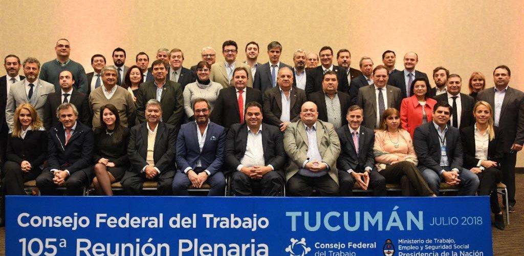 Aida Ruiz participó de la 105º reunión  Plenaria del Consejo Federal de Trabajo
