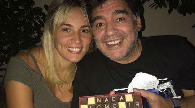 Rocío Oliva anunció su casamiento con Diego Maradona