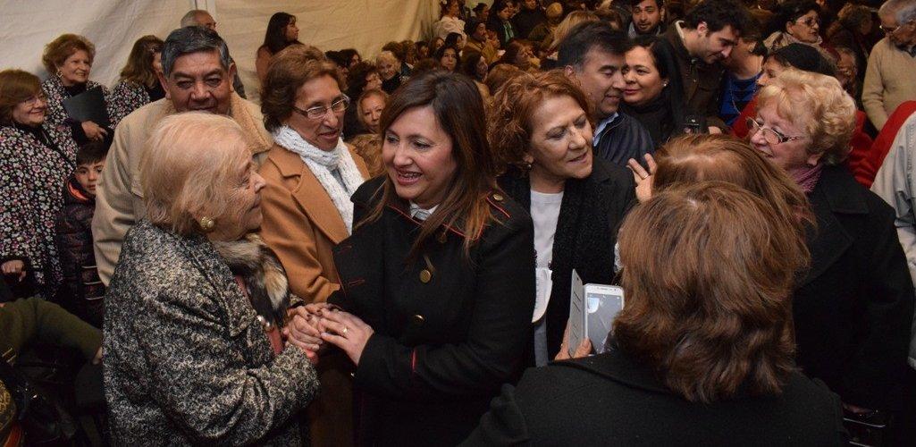 La Intendente Fuentes habilitó la sede de la Subdirección de la Tercera Edad