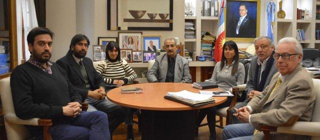 El ministro de Justicia se reunió con  miembros del Consejo de Derechos Humanos