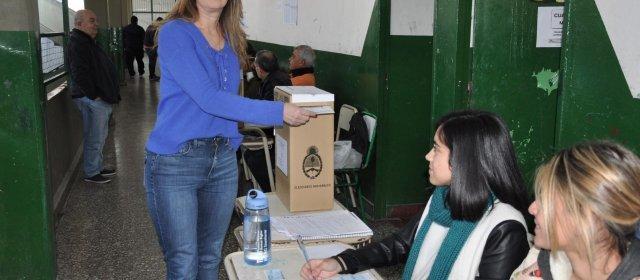 El voto de la secretaria General de la Gobernación