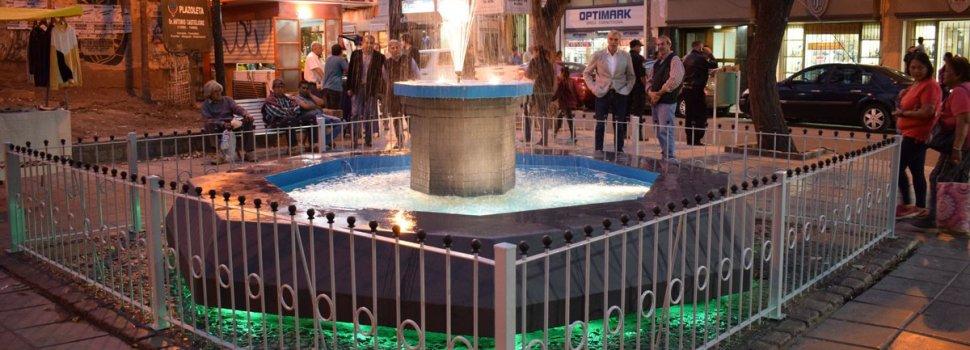 """El municipio habilitó la refacción a nueva de la fuente de la Plaza """"Las Chismosas"""""""