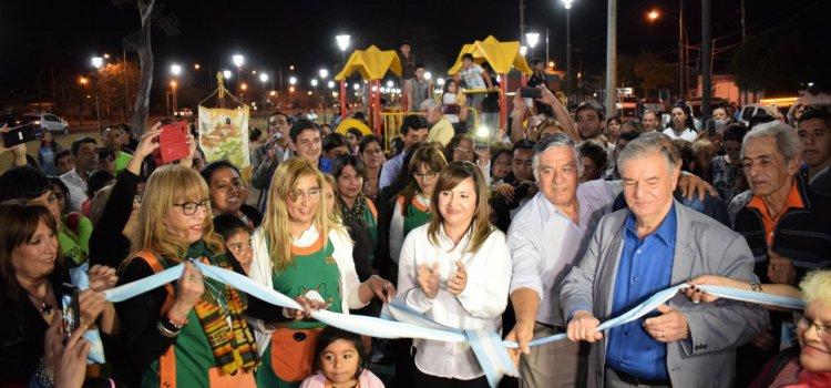 """Norma Fuentes inauguró el segundo tramo del Paseo """"Octavio Gauna"""""""