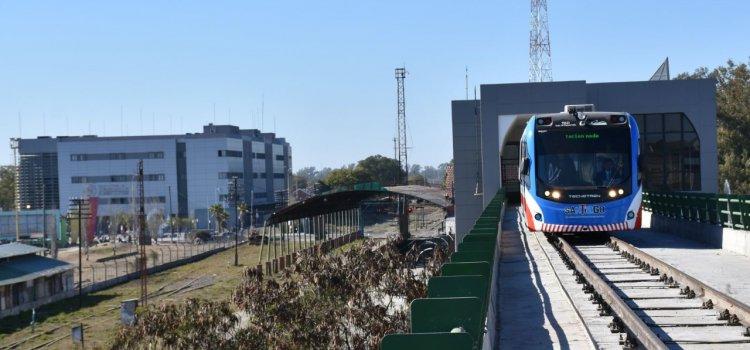 El Tren al Desarrollo inició su recorrido completo  desde la estación Fórum hasta la ciudad de La Banda