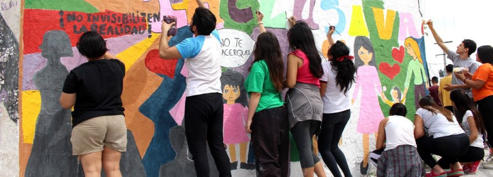 "Estudiantes secundarios participaron del programa municipal ""Pintá Conciencia"""