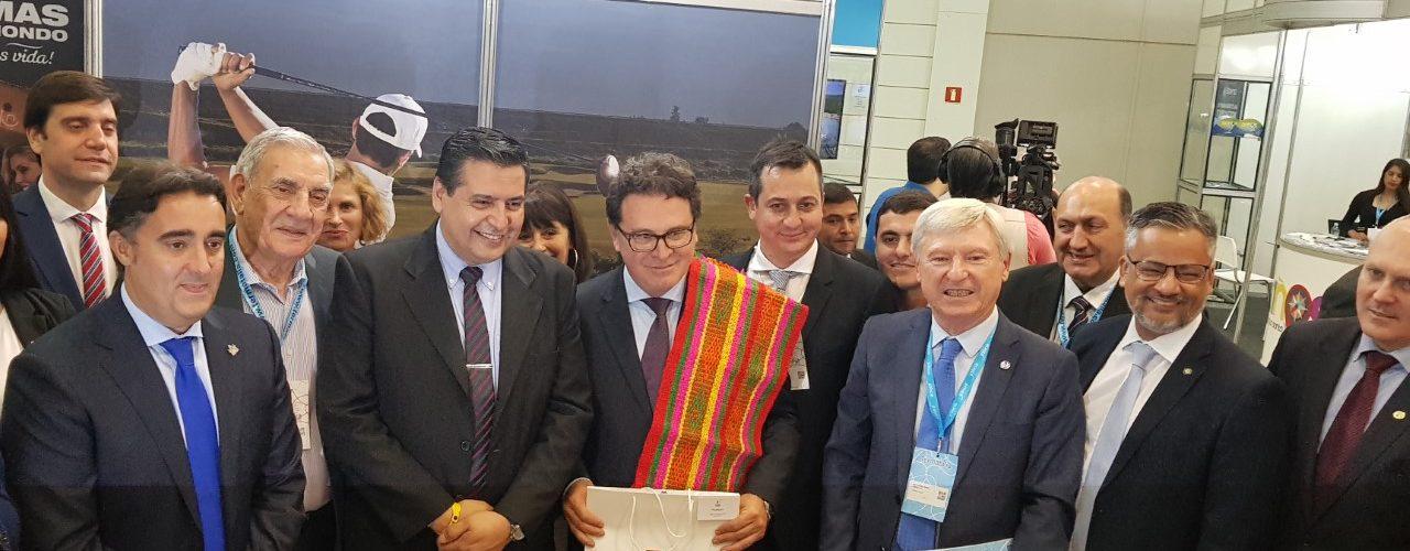 Santiago del Estero inició su participación  en Termatalia apuntando al mercado brasileño