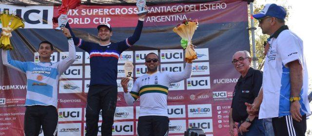 Cierre del BMX Supercross en Santiago del Estero