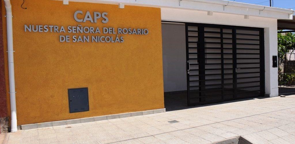 El municipio refaccionó a nuevo las instalaciones del CAPS del barrio Solís