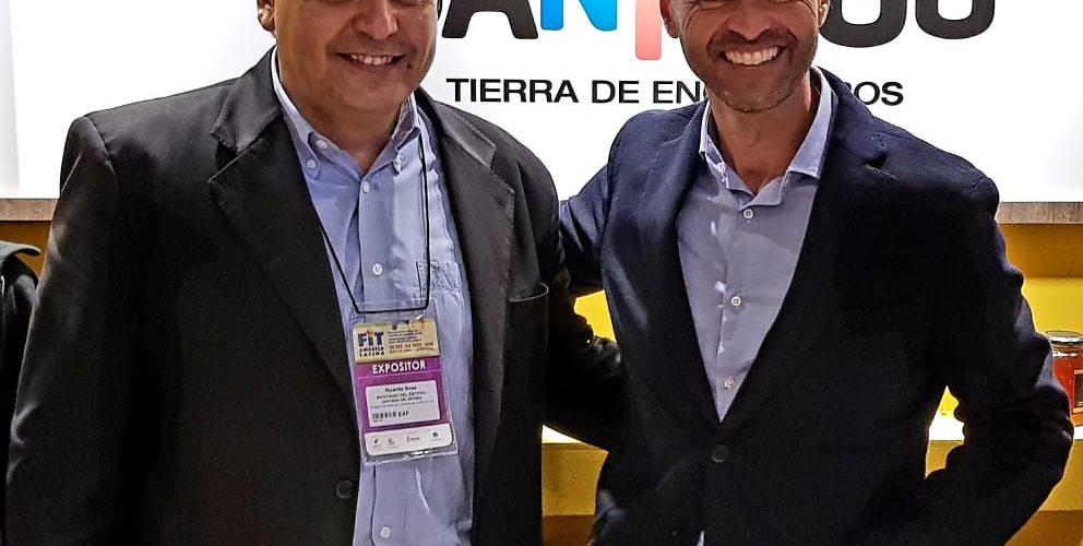 Dietrich visitó el stand de Santiago del Estero  en la Feria Internacional de Turismo
