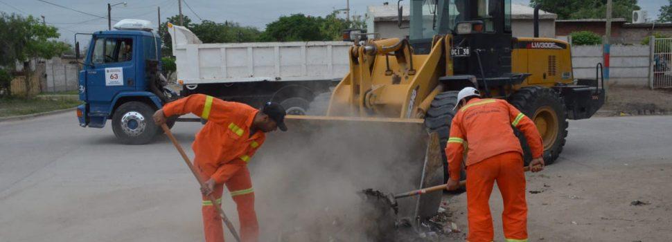 Importante operativo integral de limpieza se realizó en el barrio Jhon Kennedy