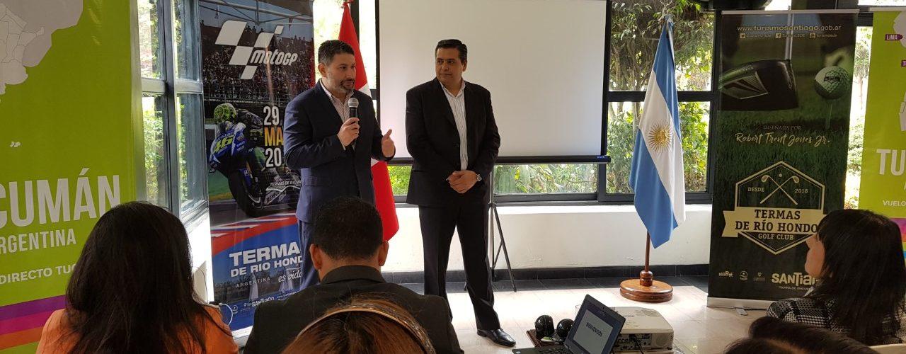 Santiago del Estero presentó su potencial  turístico ante operadores peruanos