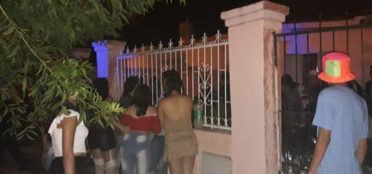 La Municipalidad clausuró varias fiestas no autorizadas donde había menores y alcohol