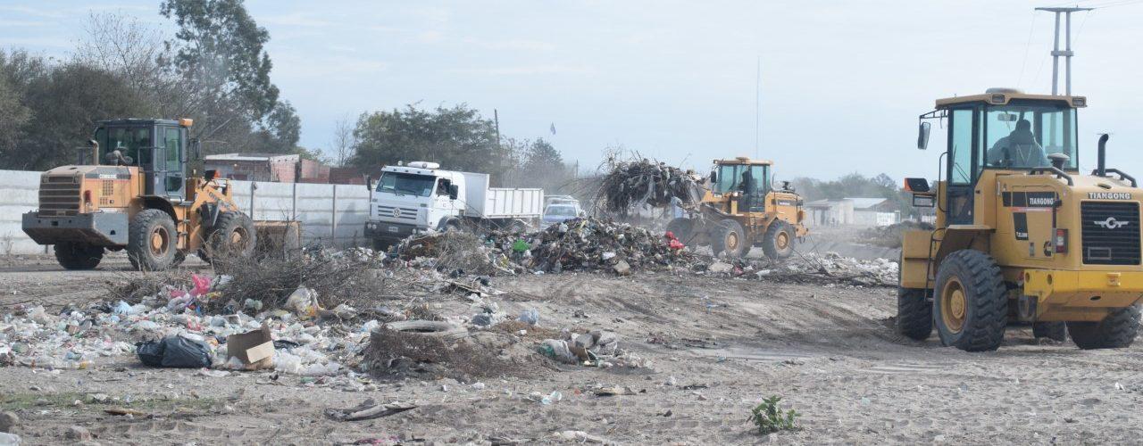 El municipio levantó varias toneladas de residuos en tres barrios