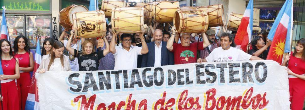 Casa de Santiago vivió una fiesta bien santiagueña