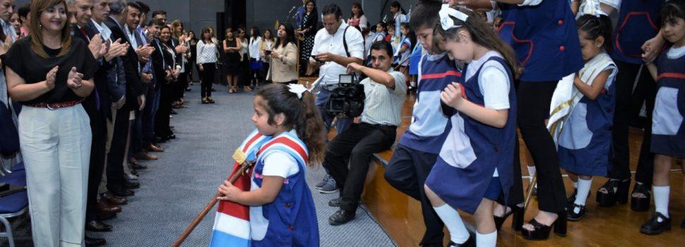 La intendente Fuentes cerró el ciclo lectivo de los jardines de infantes municipales