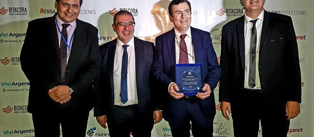 """Distinguen al Gobernador Zamora  por la """"Gestión Pública de Turismo"""""""