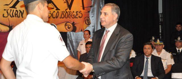 Egresaron cadetes del Liceo Policial Mixto