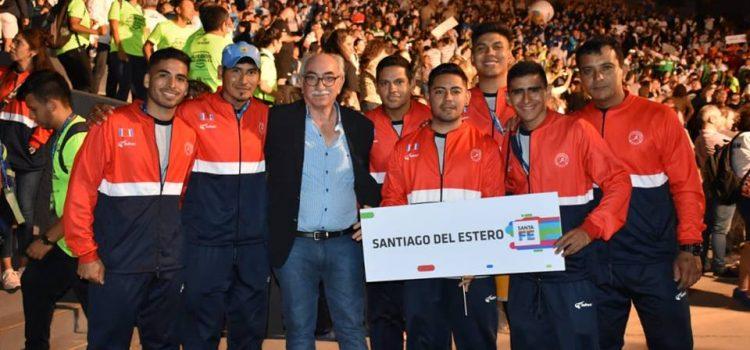 Santiago del Estero presente en los juegos de playa